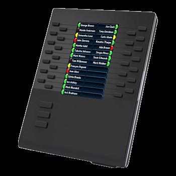 Mitel M685 (Tastenmodul für 6865/6867/6869 mit LCD Modul)