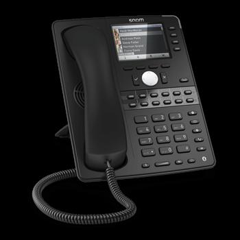 snom D765 (PoE*, Gigabit-Switch, TFT Farbdisplay)