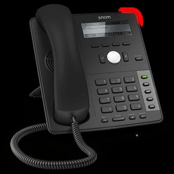 snom D712 (black Business Phone)
