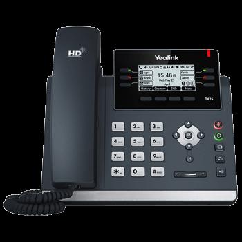 Yealink T42S (Gigabit-Switch, 6 Funktionstasten, USB Port für Bluetooth + WiFi)