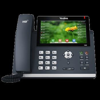 Yealink T48S (Gigabit-Switch, 29 Funktionstasten, USB Port für Bluetooth + WiFi, Farb-Touch-Display)