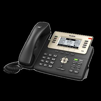 Yealink T27G (8 Funktionstasten,Gigabit-Switch, papierloses Design)